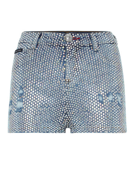 High Waist Hot pants Crystal