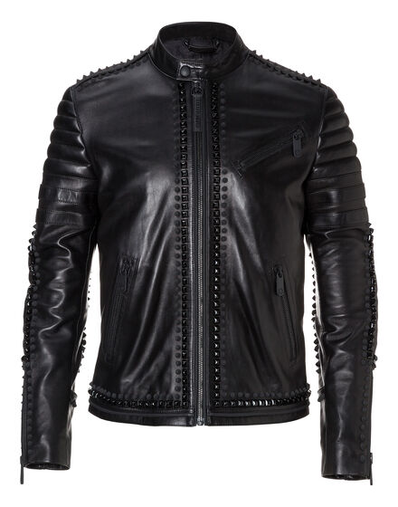 Leather Moto Jacket Every demon