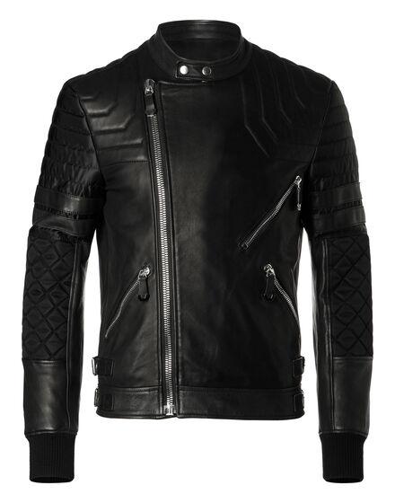 Leather Biker Quian