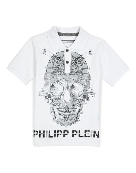 polo cyber skull