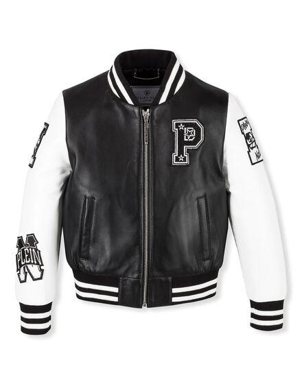 Leather Jacket Karl