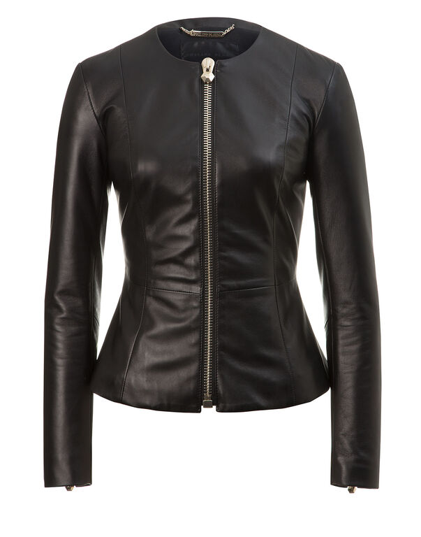 "leather jacket ""etho"""