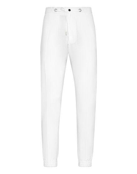 Linen Jogging Trousers