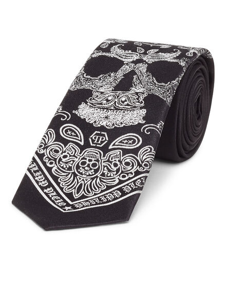 Thick Tie Skull