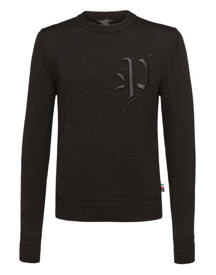 Pullover Round Neck LS PP 78 gothic