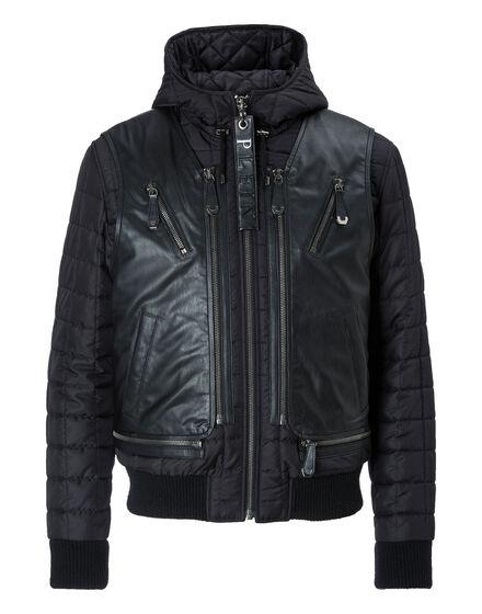 Leather Jacket Surfer