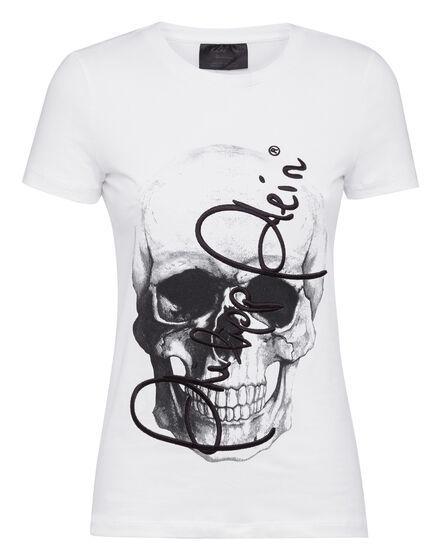 T-shirt Round Neck SS Skull signature