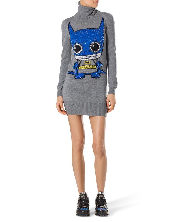 """knit dress """"kiwi"""""""