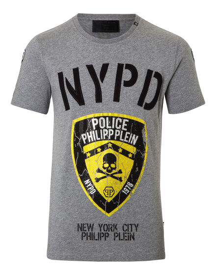 T-shirt Round Neck SS Police