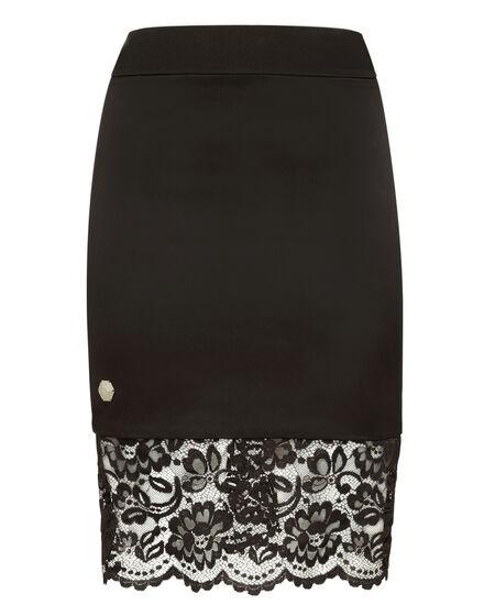 Short Skirt Flower lace