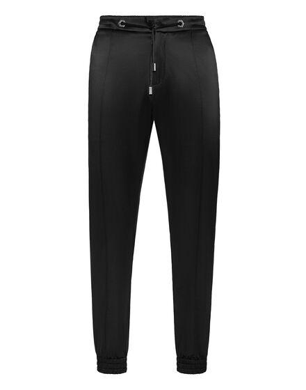 Satin Jogging Trousers Elegant
