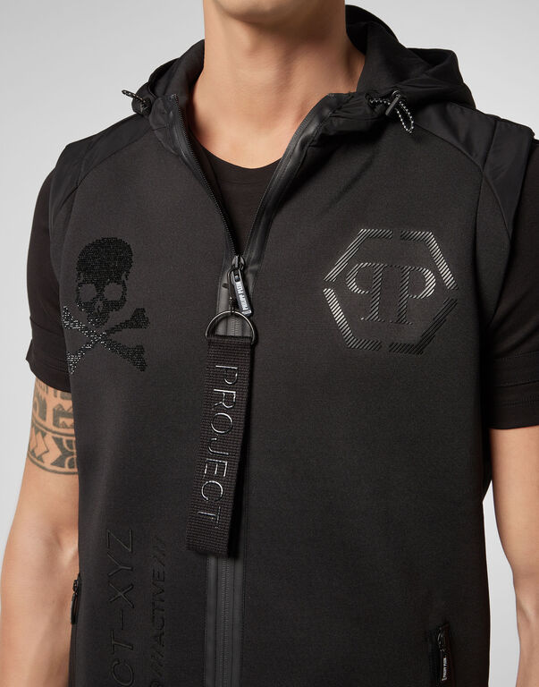 Jogging Vest XYZ Skull and Plein