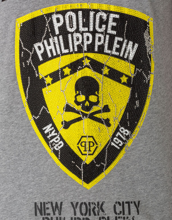 "T-shirt Round Neck SS ""Police"""