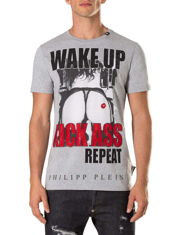 "T-shirt Round Neck SS ""kyl"""