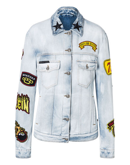 Denim Jacket Fashion show