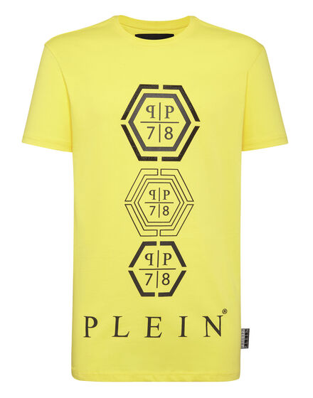T-shirt Round Neck SS Hexagonal