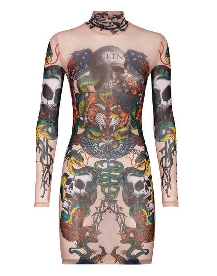 Short Dress Tattoo