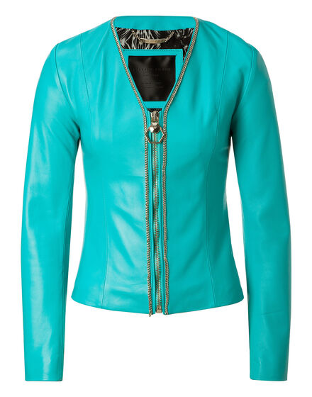 Leather Bolero Shanna