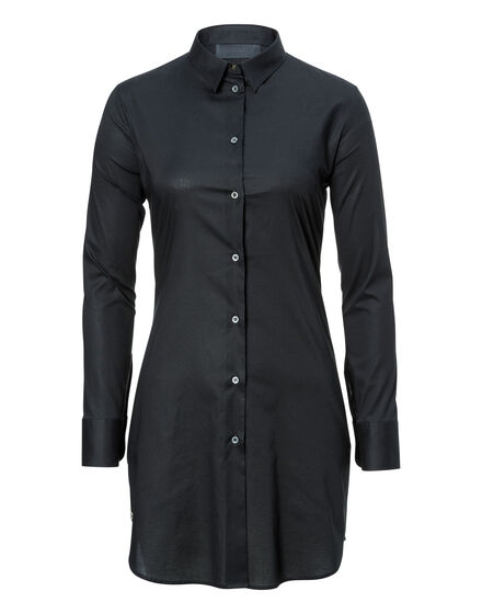 Shirt Dress Siena Blue