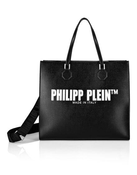 Leather Big Handle bag Philipp Plein TM