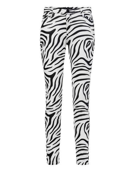 High Waist Jegging Zebra