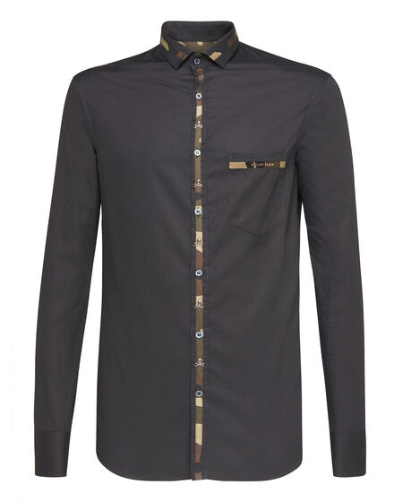 Shirt Diamond Cut LS Revers