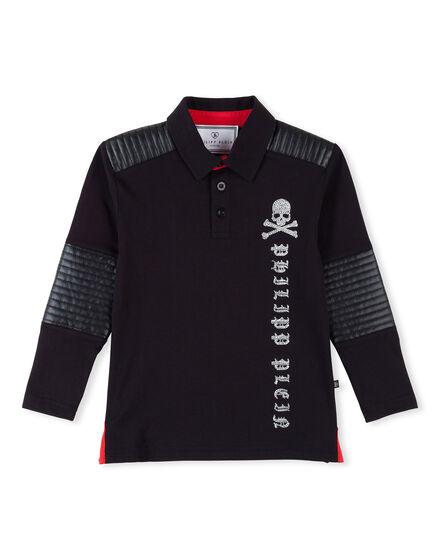 T-shirt Round Neck LS Creal Dark