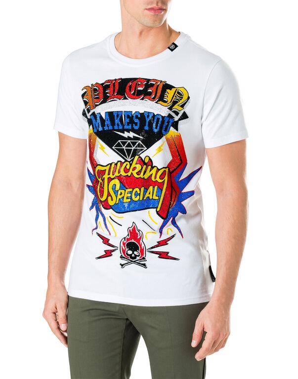 "T-shirt Round Neck SS ""Special Flight"""