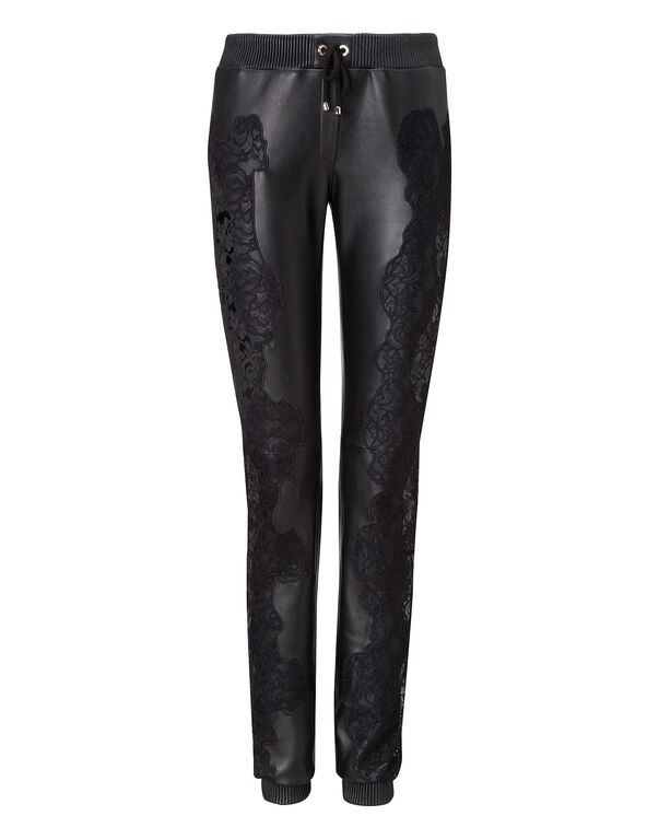 "leather trousers ""my name"""