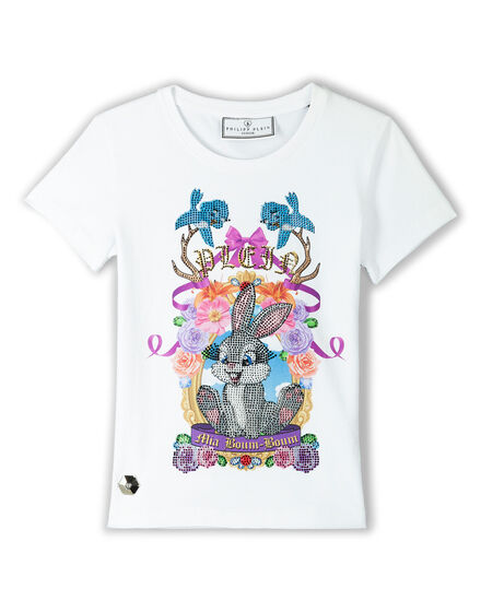 T-shirt Round Neck SS Love On The Brain