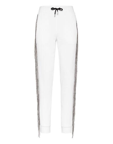 Jogging Trousers Crystal Fringe