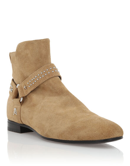 Boots Low Flat Fingers
