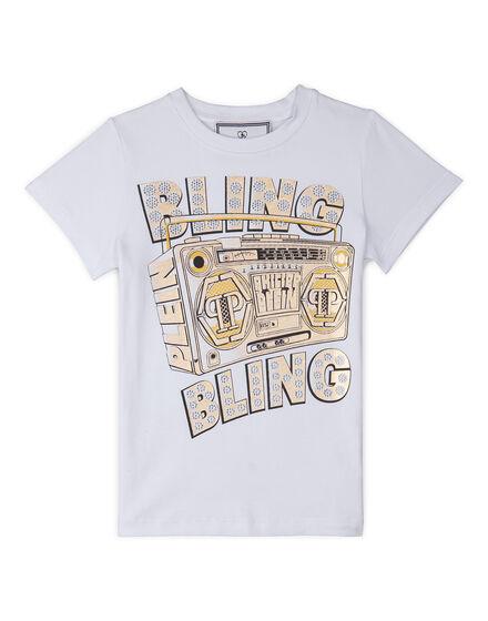 T-Shirt Round Neck SS Bling Bling