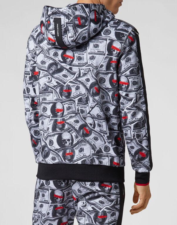 Hoodie Sweatjacket Dollar