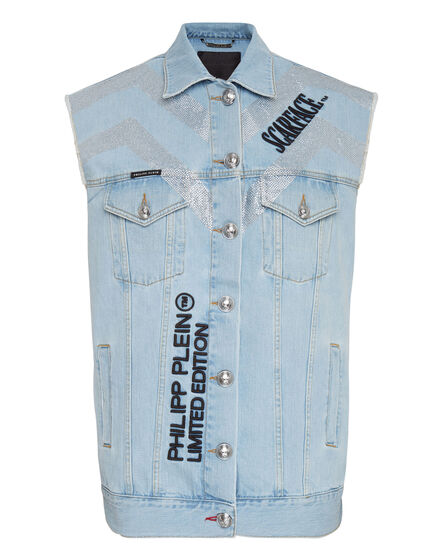 Denim vest Scarface