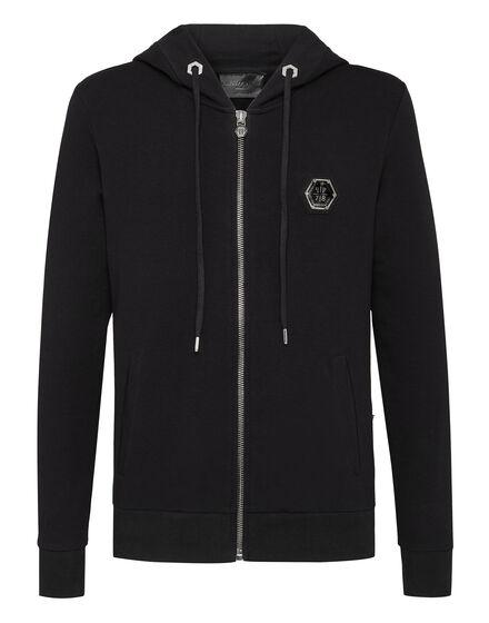 Hoodie Sweatjacket Black