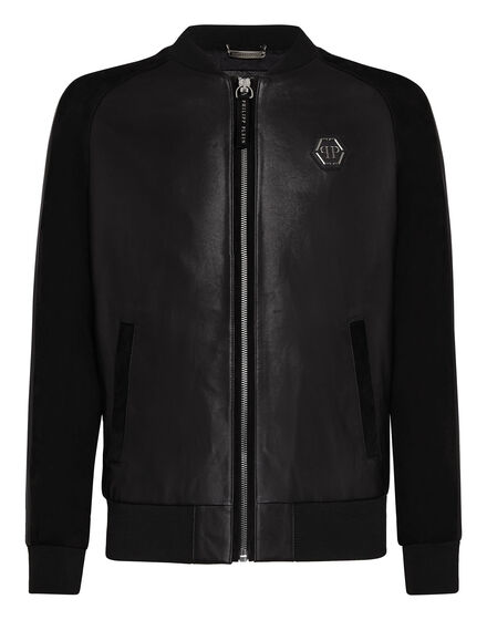 Leather Bomber I`m damned