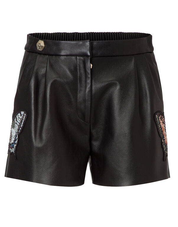 "leather shorts ""masa"""