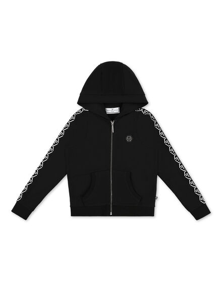Hoodie Sweatjacket All over PP