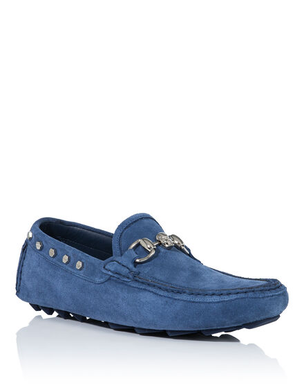 Mocassin light blu
