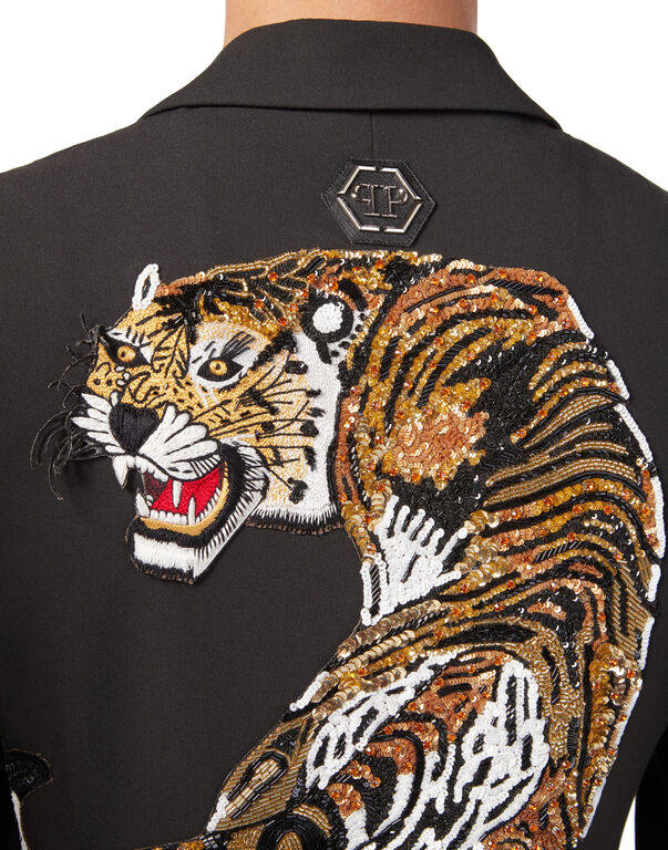 "Blazer ""Tiger strass"""