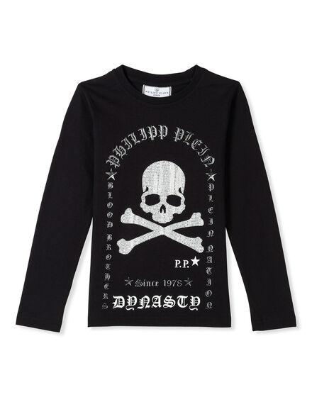 T-shirt Round Neck LS Ormo