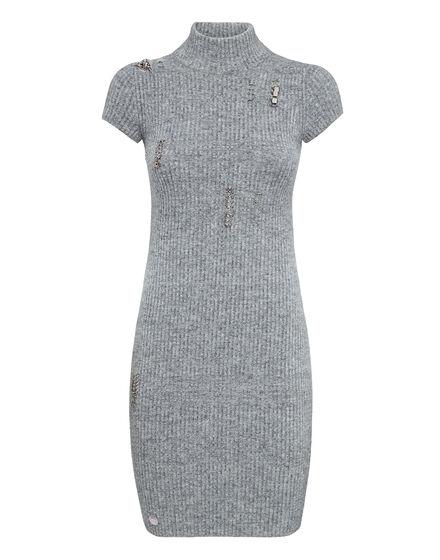 Knit Day Dress Statement