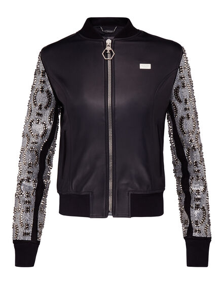 Leather Bomber Snake Water