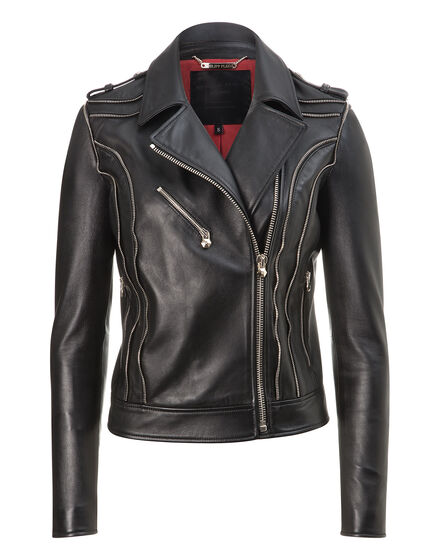 leather biker jules