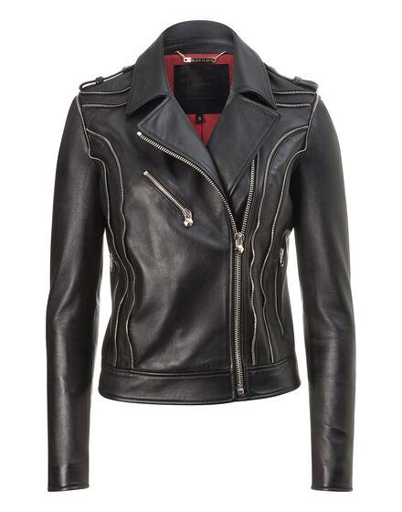 leather biker jules
