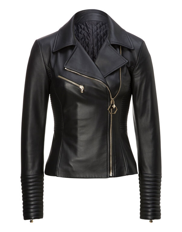 "Leather Biker ""Wall Street"""