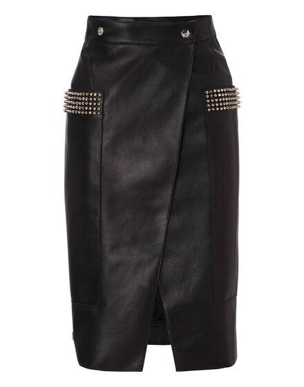 leather skirt runaway