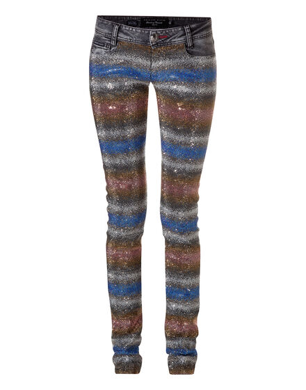 slim fit denim hologram