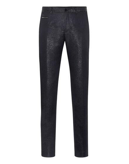 Long Trousers jacquard Elegant